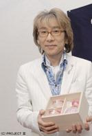 江戸切子親善大使任命記念品の授与半酒器セット(金赤)