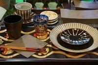 関東ブロック伝統的工芸品展2015 テーブルセッティング