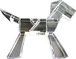 平物「馬」 作者:河端吉男