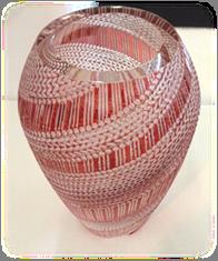 「編み物」石塚春樹作