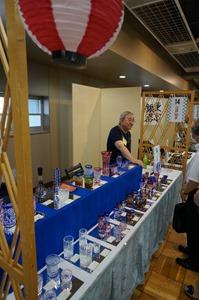 現代に活きる伝統工芸士展 浅草 江戸切子